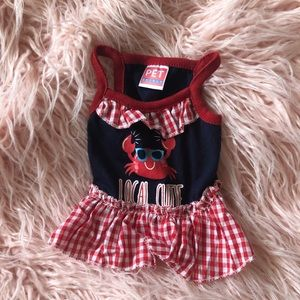 Local Cutie Crab Dog Dress